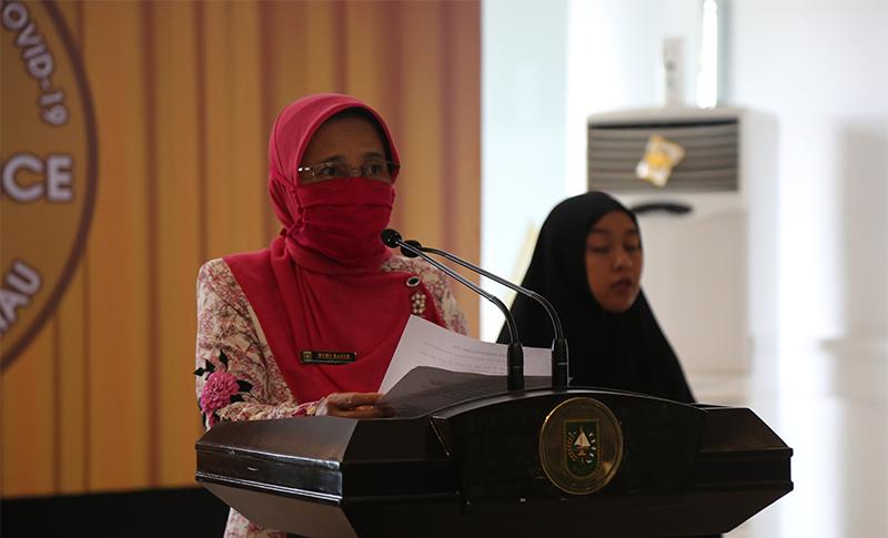 Bertambah 19 Kasus Konfirmasi Positif di Riau Total Menjadi 445 Kasus.