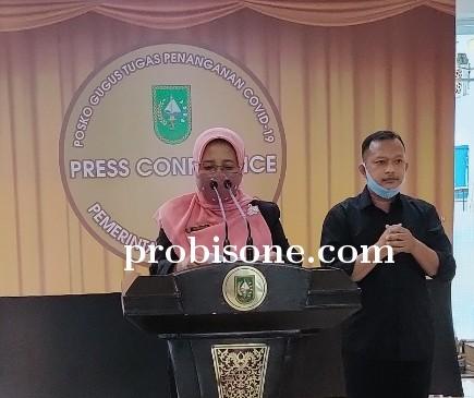 Bertambah 15 , PDP di Riau total 2.424