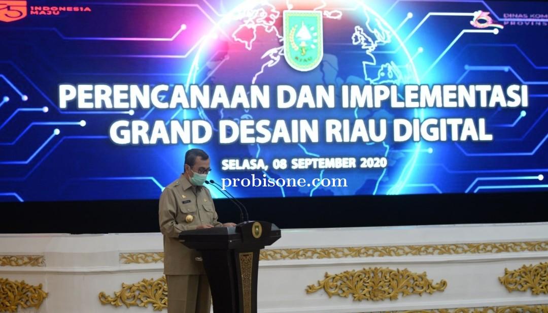 Gubernur Maksimalkan IT untuk Kualitas Pemerintahan Yang Baik dan Mudah Partisipasi Masyarakat