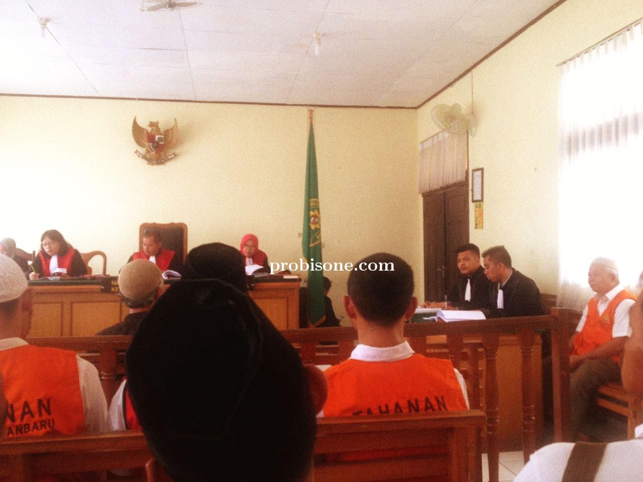 Saksi Muktadir Akui Terdakwa Freddi Kurniawan Telah Menunjuk Batas Patok Tanah Dengan Jelas